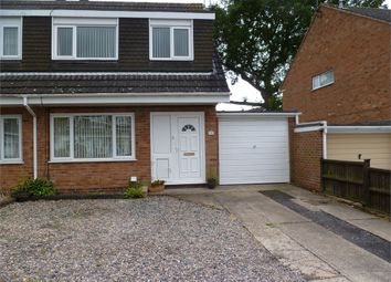 Thumbnail 3 bed semi-detached house for sale in Newent Close, Winyates Green, Redditch