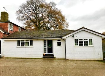 Thumbnail 3 bed bungalow to rent in Newdigate Road, Rusper, Horsham