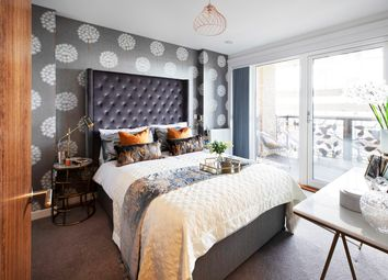 Thumbnail 3 bedroom flat for sale in Siskin Apartments, Nest, Dunedin Road, London