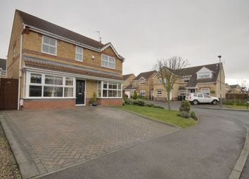 Thumbnail 4 bed detached house for sale in Manor Close, The Grove, Consett