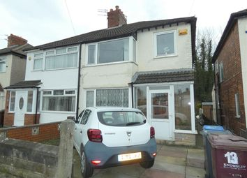 Thumbnail 3 bed semi-detached house for sale in Malvern Avenue, Huyton With Roby, Liverpool