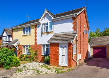 Thumbnail 2 bed semi-detached house for sale in Fowler Close, Maidenbower, Crawley