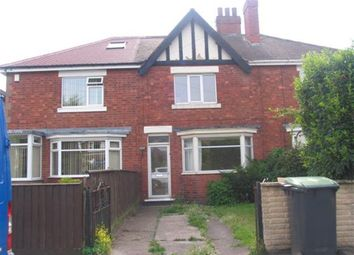 Thumbnail 3 bedroom terraced house to rent in Meadow Road, Beeston, Nottingham