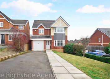 Thumbnail 4 bedroom detached house for sale in Hillsdown Drive, Connah's Quay, Deeside