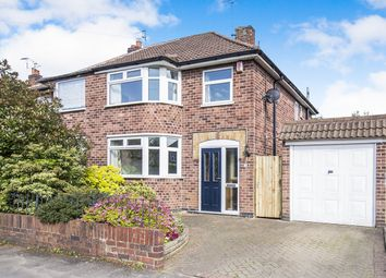 Thumbnail 3 bed semi-detached house for sale in Keswick Road, Blaby, Leicester