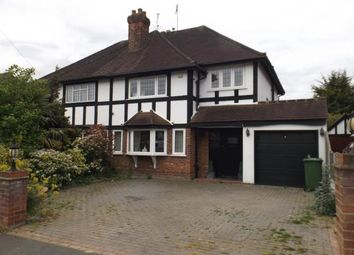 Thumbnail 3 bed semi-detached house for sale in Grange Crescent, Chigwell