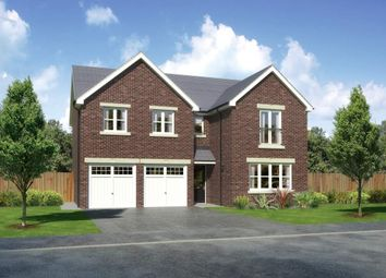 "Thumbnail 5 bed detached house for sale in ""Malborough"" at Padgbury Lane, Congleton"