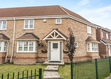 Thumbnail 3 bed semi-detached house for sale in Piper Knowle Road, Stockton-On-Tees