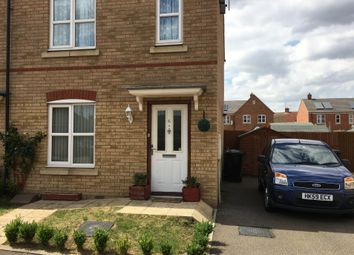 Thumbnail 2 bed semi-detached house for sale in Bird Close, West Lynn, Kings Lynn