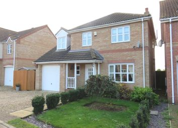 Thumbnail 4 bed detached house for sale in Cedar Way, Elm, Wisbech