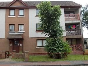 Thumbnail 2 bed flat for sale in Dalriada Crescent, Motherwell, North Lanarkshire