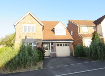 Thumbnail 4 bed detached house for sale in Marguerites Way, Cardiff