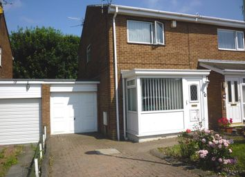 Thumbnail 2 bed semi-detached house for sale in Kepier Chare, Crawcrook, Ryton