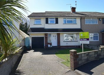 Thumbnail 4 bed semi-detached house for sale in Ardwyn, Pantmawr, Cardiff.