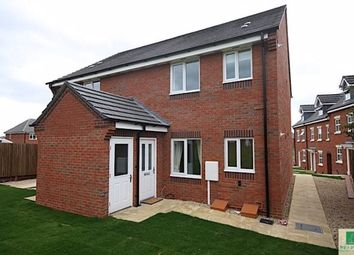 Thumbnail 1 bed flat to rent in Brindley Close, Stoney Stanton, Leicester