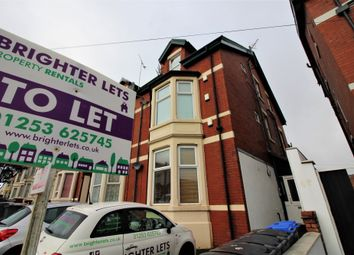 Thumbnail 1 bed flat to rent in Flat 4 Hornby Rd, Blackpool