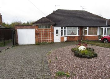 Thumbnail 2 bedroom semi-detached bungalow for sale in The Bridle, Glen Parva, Leicester