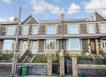Thumbnail 3 bed terraced house for sale in Llwynbach Terrace, Hollybush, Blackwood