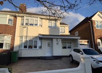 Thumbnail 4 bed semi-detached house for sale in Northwood Road, Prenton, Merseyside