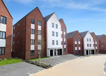 "Thumbnail 2 bed flat for sale in ""Lowesbury"" at Caledonia Road, Off Kiln Farm, Milton Keynes"
