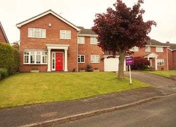 Thumbnail 4 bed detached house for sale in Wymondley Grove, Stoke-On-Trent
