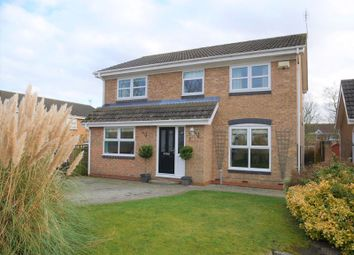Thumbnail 4 bed detached house for sale in Croftside, Etherley Moor, Bishop Auckland