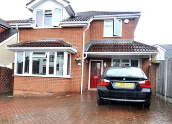 Thumbnail 5 bed detached house for sale in Greenway, Harold Wood, Romford