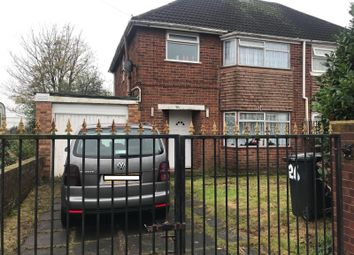 Thumbnail 3 bed semi-detached house to rent in Taylor Road, Wolverhampton, West Midlands