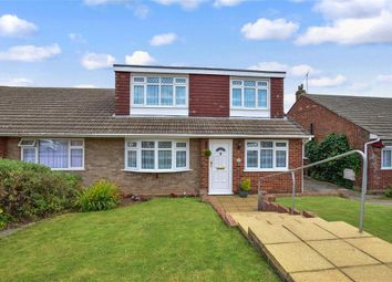Thumbnail 3 bed bungalow for sale in Lesley Close, Gravesend, Kent