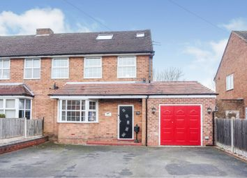 Thumbnail 4 bed semi-detached house for sale in The Green, Shustoke