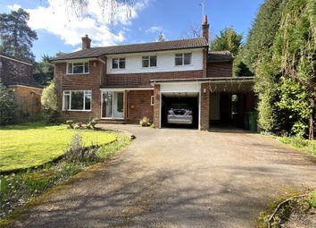 Thumbnail 4 bed detached house for sale in Castle Road, Camberley
