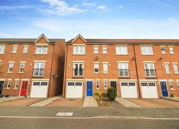 Thumbnail 4 bed terraced house for sale in Hawks Edge, West Moor, Tyne And Wear