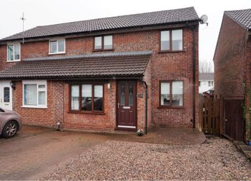 Thumbnail 3 bed semi-detached house for sale in Bedavere Close, Cardiff