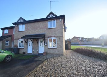 Thumbnail 2 bedroom end terrace house for sale in Elveden Close, Luton