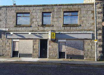 Thumbnail Commercial property for sale in Seaforth Street, Fraserburgh