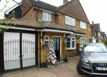 Thumbnail 5 bed semi-detached house for sale in Rutson Road, Byfleet, Surrey