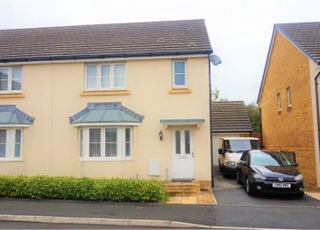Thumbnail 3 bed semi-detached house for sale in Ffordd Y Meillion, Penllagear