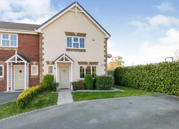 Thumbnail 3 bed semi-detached house for sale in Cae Winefride, St Asaph, Denbighshire, .