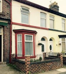 Thumbnail 2 bedroom terraced house for sale in Granville Road, Garston, Liverpool, Merseyside