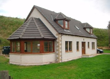 Thumbnail 4 bed detached house for sale in Glenrinnes Estate, Dufftown, Scotland