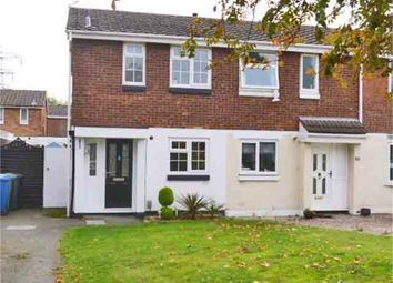 Thumbnail 2 bed semi-detached house to rent in Brambling, Wilnecote, Tamworth, Staffordshire
