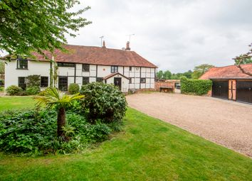 Thumbnail 4 bed semi-detached house for sale in Eversley Cross, Hook