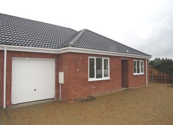 Thumbnail 2 bed semi-detached bungalow for sale in Lynfield Road, North Walsham