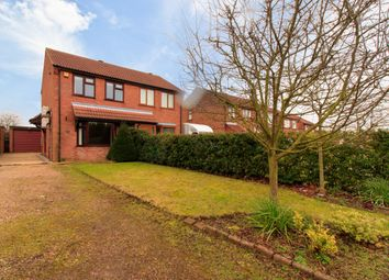 Thumbnail 2 bed semi-detached house for sale in Thurlow Court, Glebe Park, Lincoln