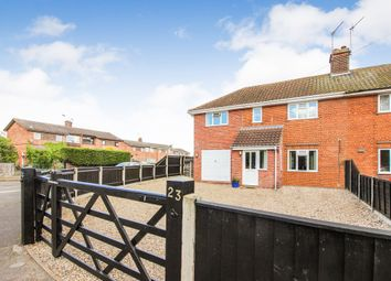 Thumbnail 3 bedroom semi-detached house for sale in Station Road, Lingwood, Norwich