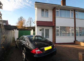 Thumbnail 3 bed end terrace house for sale in Plantagenet Gardens, Chadwell Heath, Essex