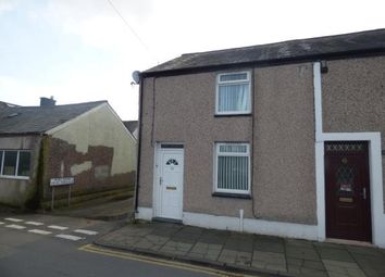 Thumbnail 2 bed end terrace house for sale in Madoc Street West, Porthmadog, Gwynedd
