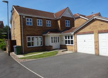 Thumbnail 4 bed detached house for sale in Saffron Street, Forest Town, Mansfield