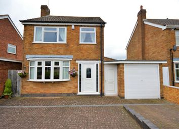 Thumbnail 3 bed detached house for sale in Aylestone Lane, Wigston