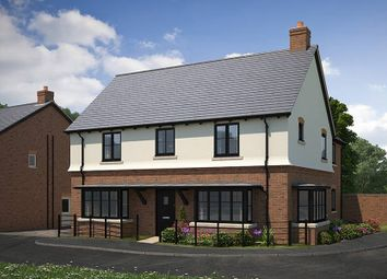"Thumbnail 5 bed detached house for sale in ""The Helmsley_Parklands"" at Lutterworth Road, Rugby"